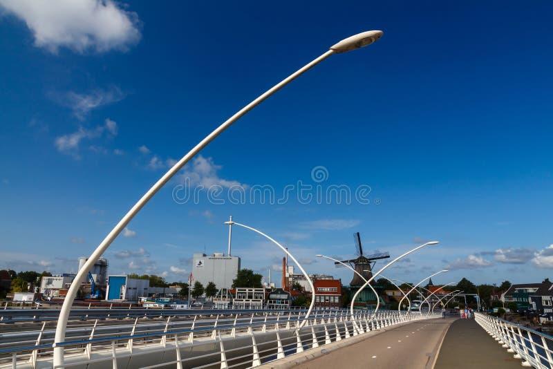 Molinoes de viento de Holanda fotos de archivo