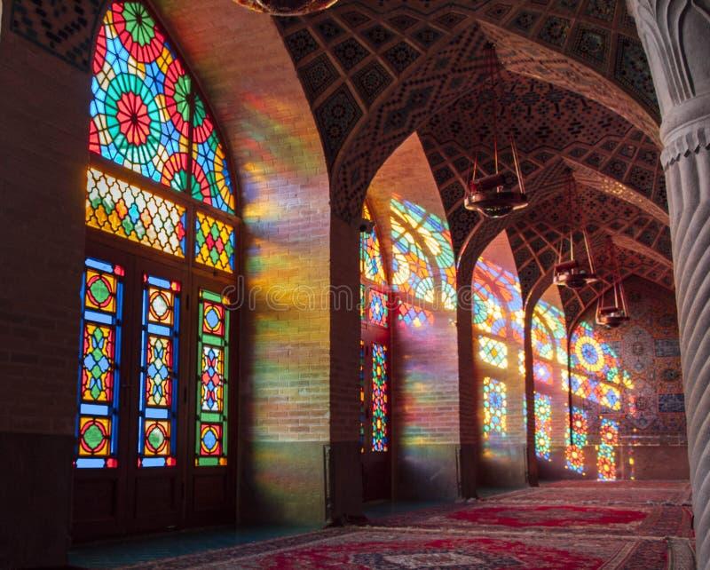 Molk del Al del nasir de Mosquee foto de archivo