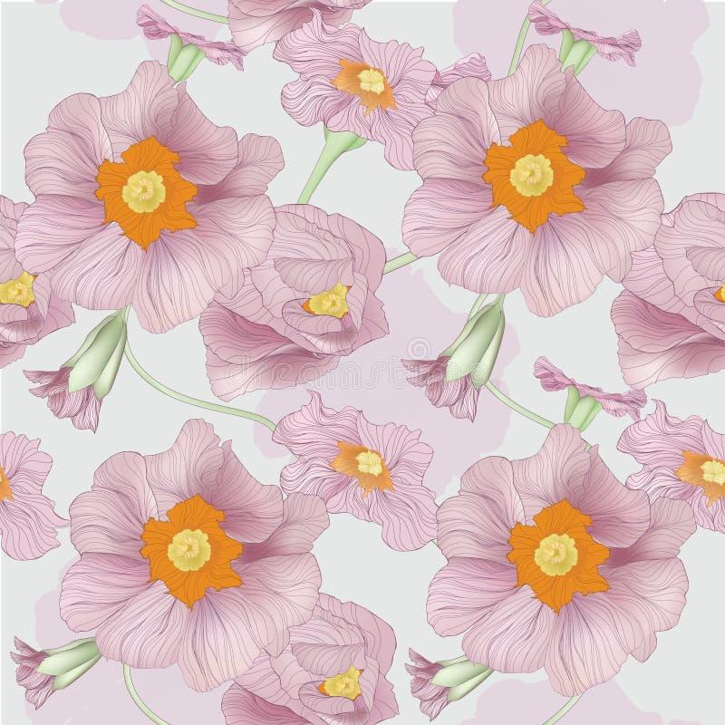 Molla del fiore del disegno royalty illustrazione gratis