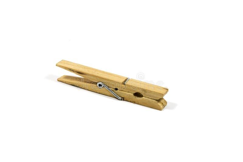 Molletta da bucato di legno immagine stock libera da diritti