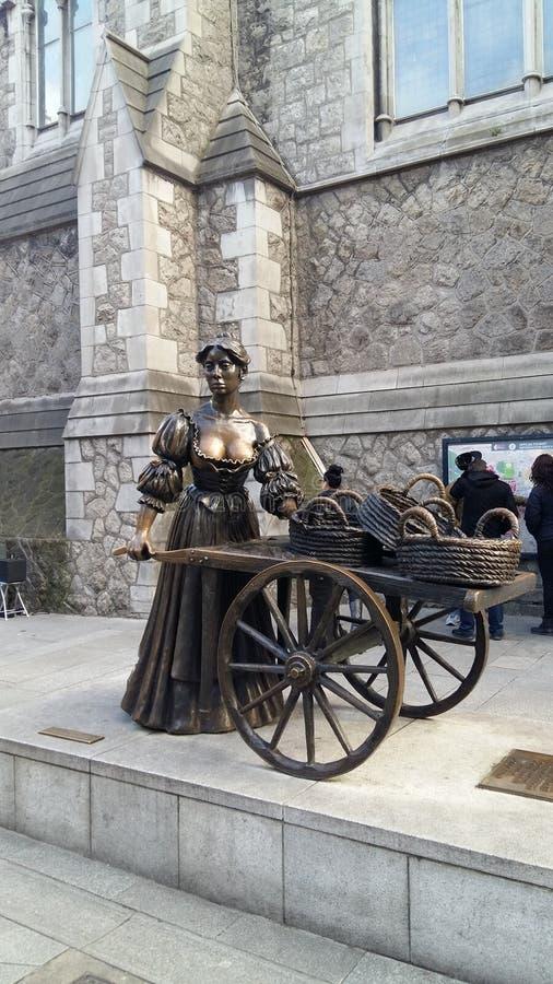 Molly Malone - Dublin Ireland - Central Area royalty free stock photo
