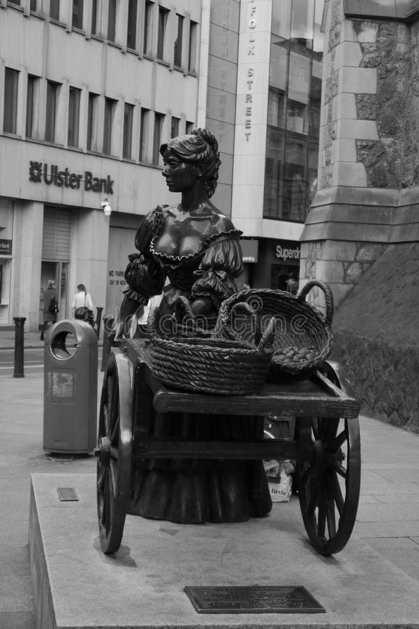 Molly Malone royalty free stock images