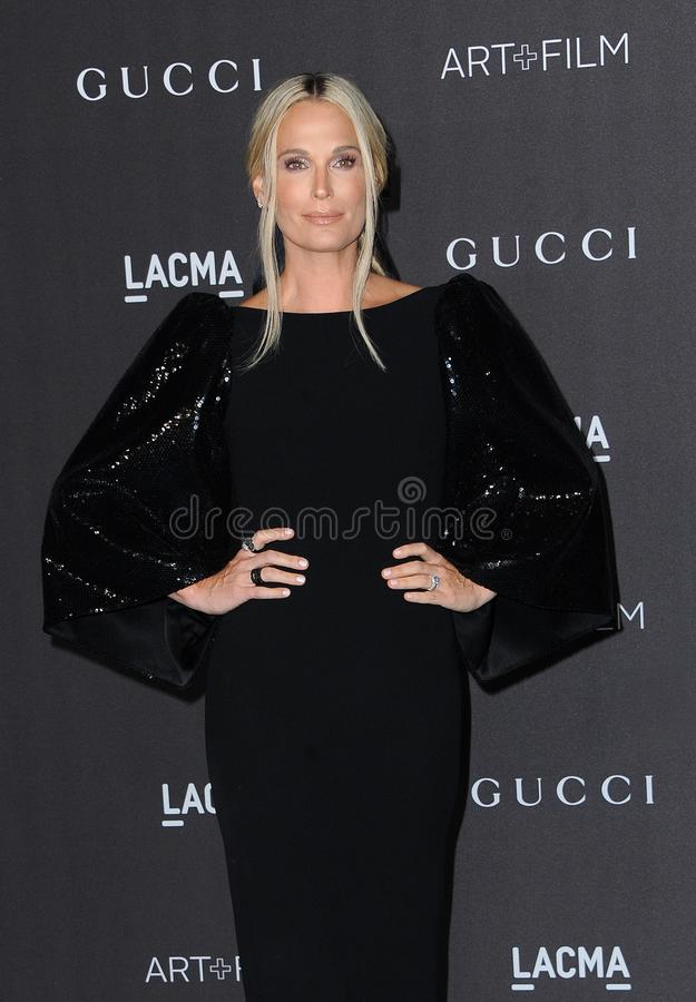 Molly Sims royalty free stock photography