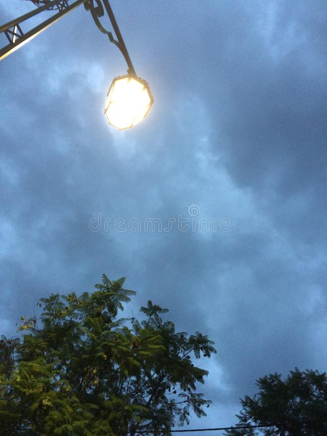 molnig dag arkivfoto