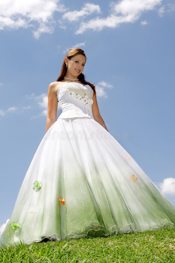 molnig klänning arkivfoton