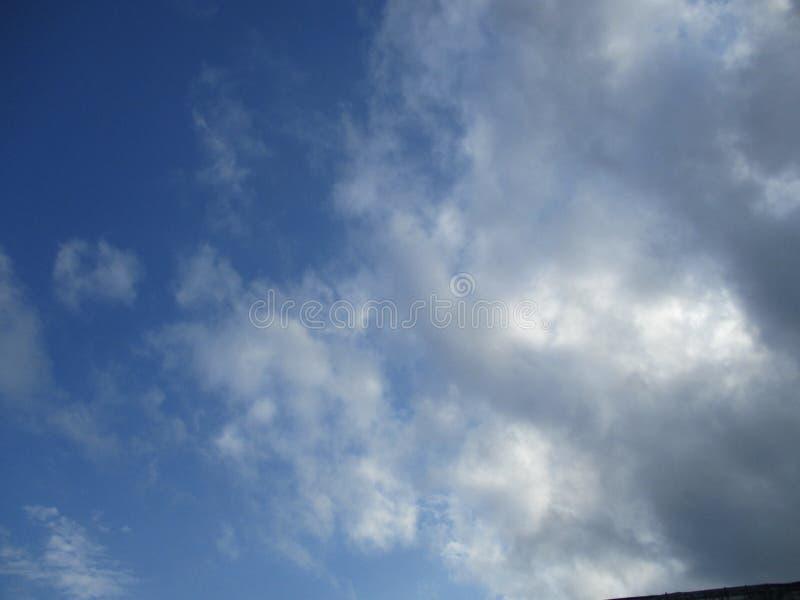 Molniga himlar 1 royaltyfri fotografi