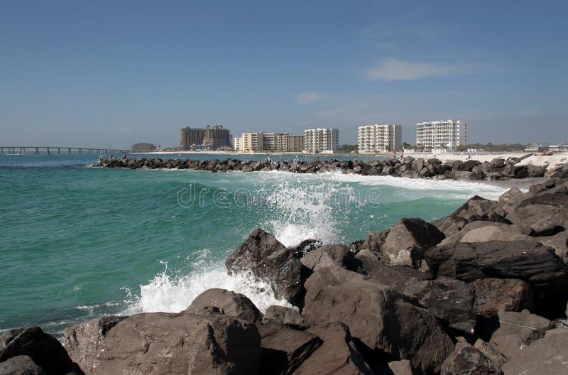 Molo a Destin, Florida fotografie stock