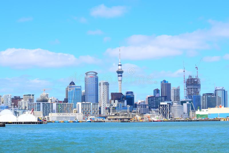 Molo di Auckland immagine stock libera da diritti