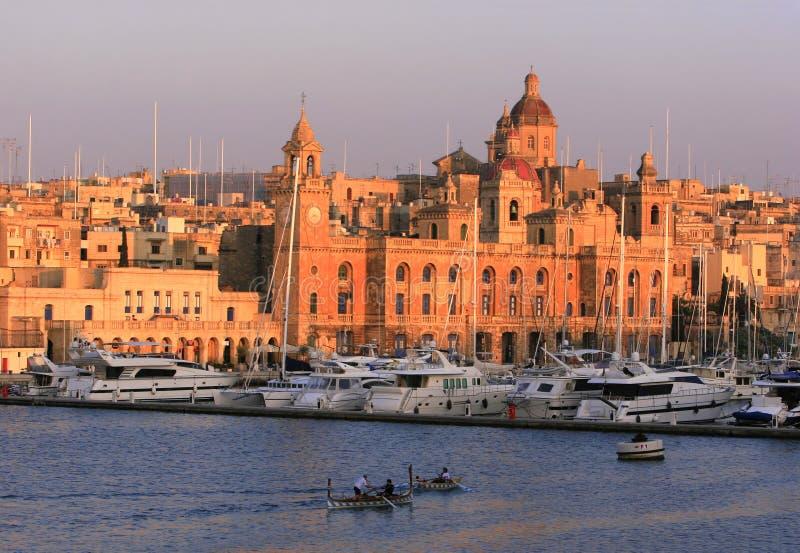 Molo di Vittoriosa, Malta immagine stock libera da diritti