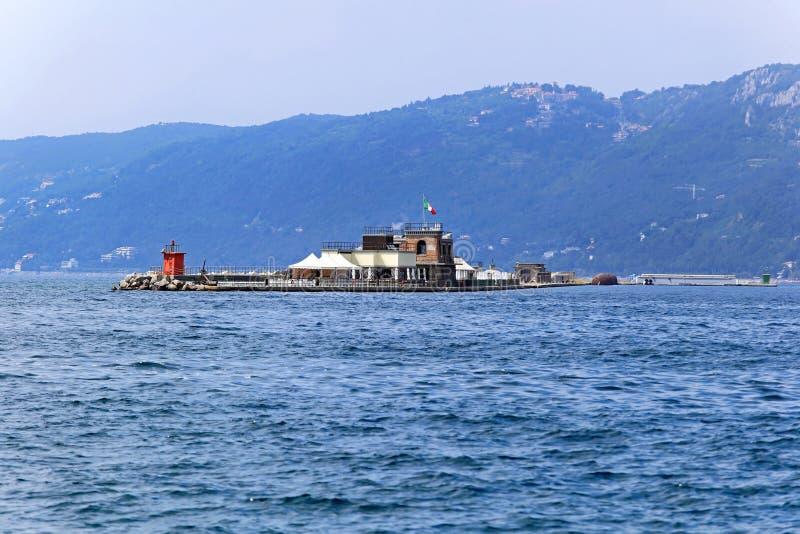 Molo Foraneo Trieste imágenes de archivo libres de regalías
