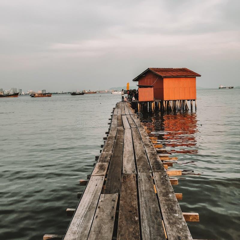 Molo Penang del clan fotografie stock libere da diritti