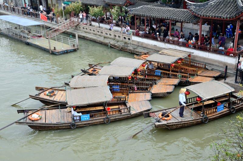 Molo w Zhujiajiao obrazy royalty free