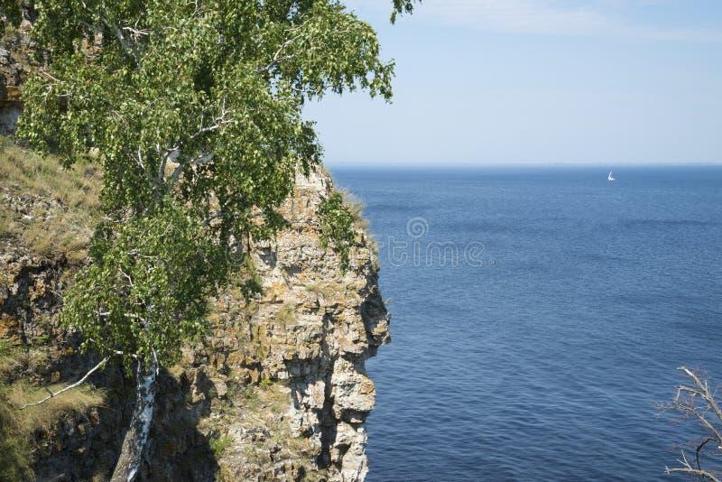 Molodetskiy Kurgan. Attraction of the Samara region. On a Sunny summer day royalty free stock photography