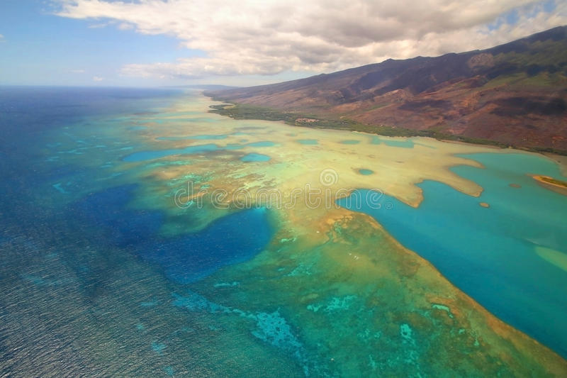 Molokai-Insel, Maui stockbild