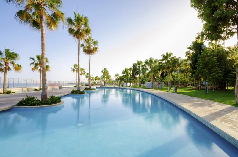Molos, Limassol, Zypern stockbilder