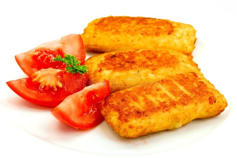 Molte polpette con il formaggio della mozzarella fotografie stock libere da diritti
