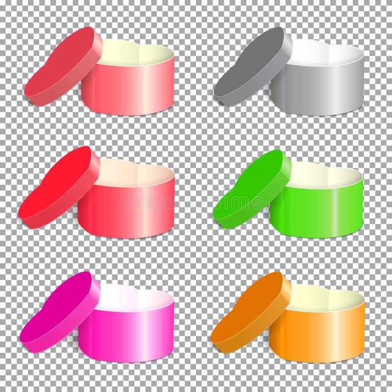 Molte scatole vector-01 immagine stock