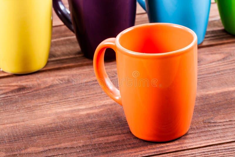 Molte tazze di tè fotografie stock libere da diritti