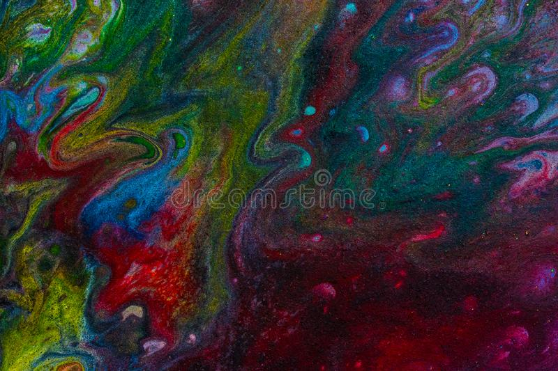 Molten Space 2 stock images