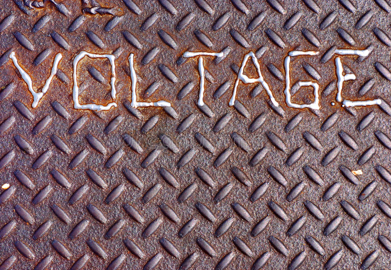 Molten Voltage royalty free stock photography