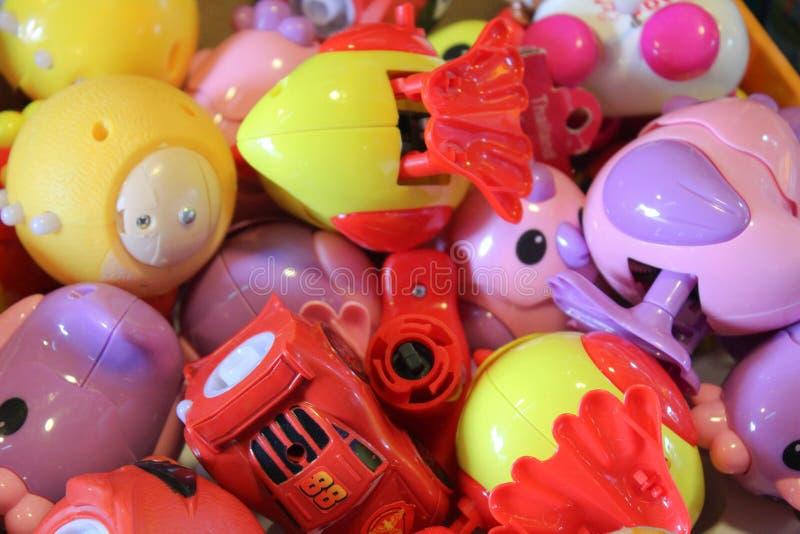 Molti giocattoli immagini stock