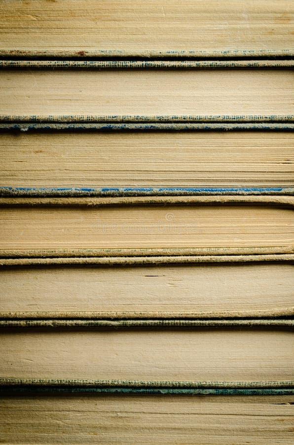 Molti libri hanno accatastato il livello fotografia stock libera da diritti