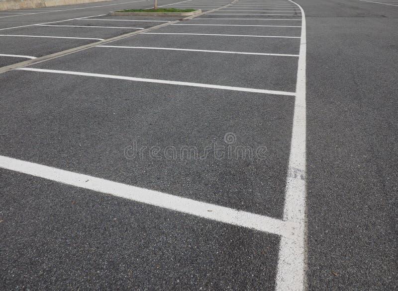 molti parcheggi fotografia stock libera da diritti