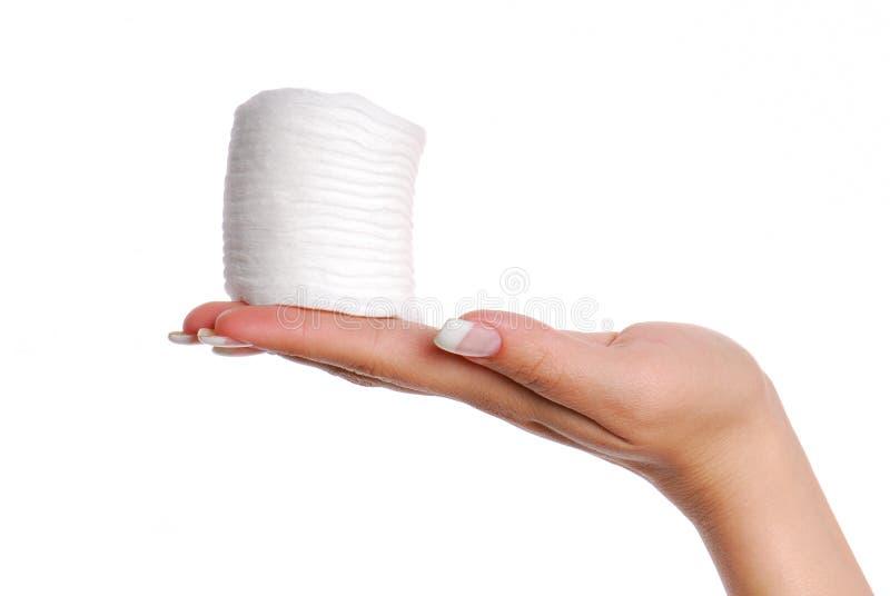 Molti tamponi di cotone. fotografia stock libera da diritti