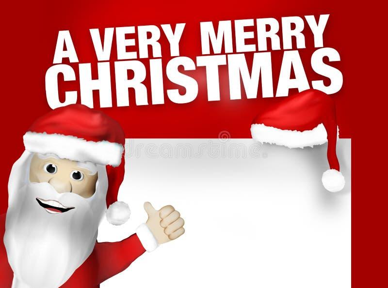 Molto Buon Natale royalty illustrazione gratis