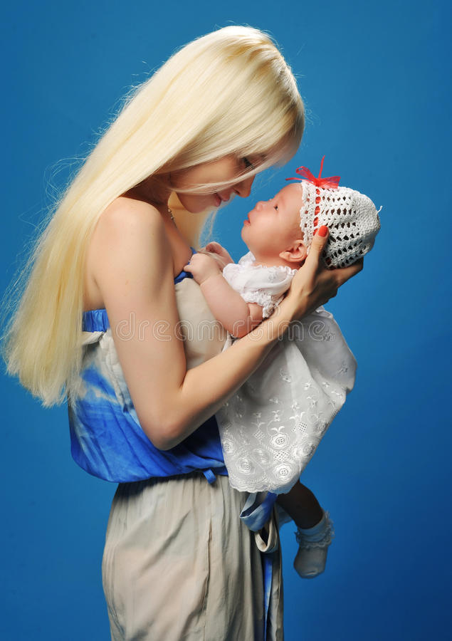 Mom And Baby Stock Photos