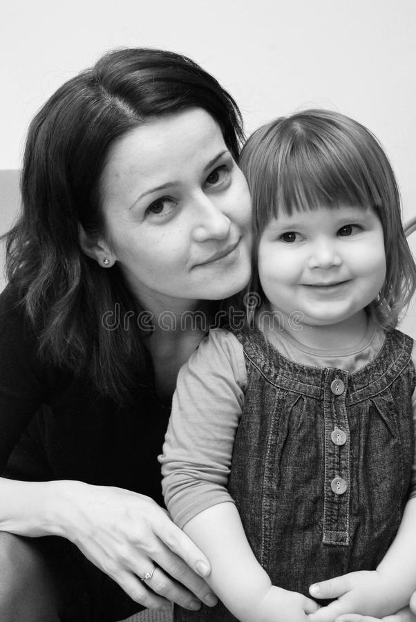 Download Mom and daughter stock photo. Image of attachment, cure - 13961844