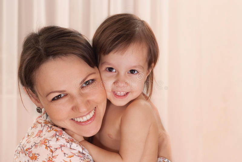 Download Mom with daughter stock photo. Image of smiling, people - 22828664