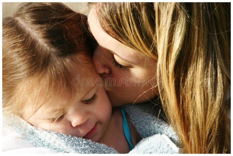 Download Mom and daughter stock image. Image of outdoors, unconditional - 2889349