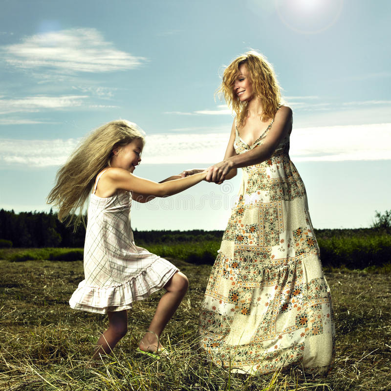 Download Mom And Daughter Having Fun Stock Photo - Image: 28699482