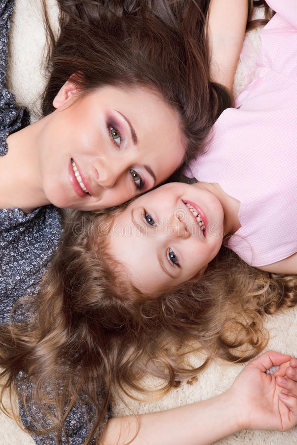Download Mom and girl stock photo. Image of girl, daughter, ittle - 18961772