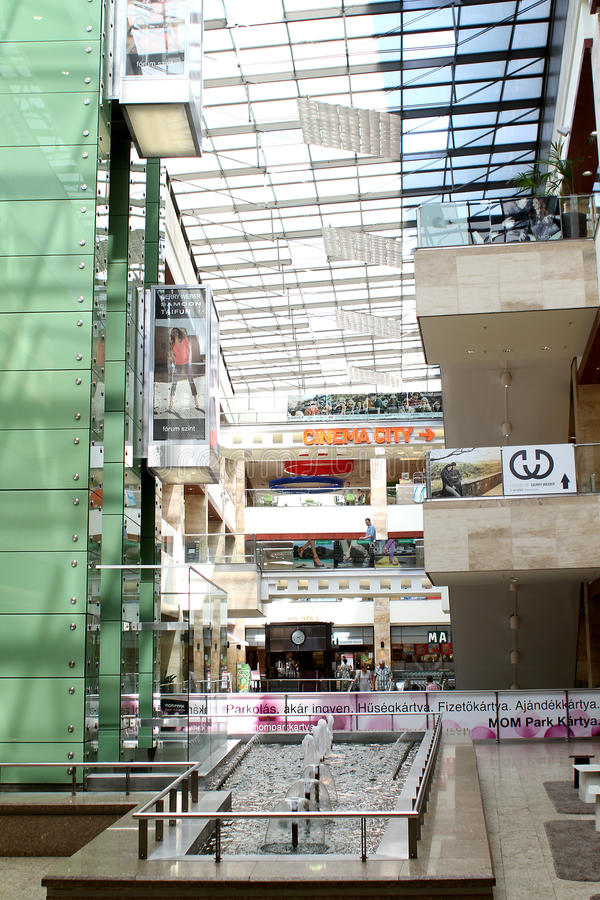 Download Mom Park mall in Budapest editorial stock photo. Image of budapest - 26141103