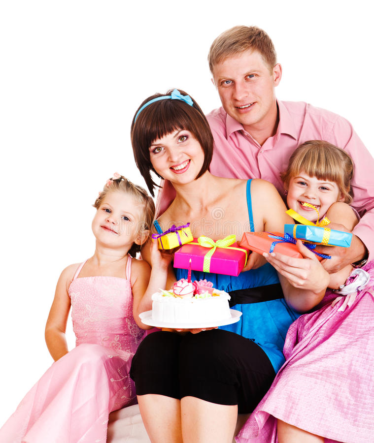 Download Mom's birthday stock photo. Image of cute, burning, cheerful - 21885390