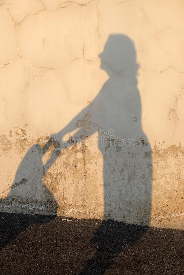 Download Mom's Silhouette Stock Photography - Image: 11490042
