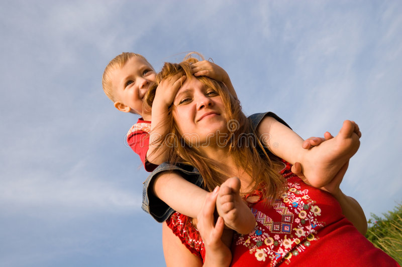 Download Mom And Son Stock Photography - Image: 1196372