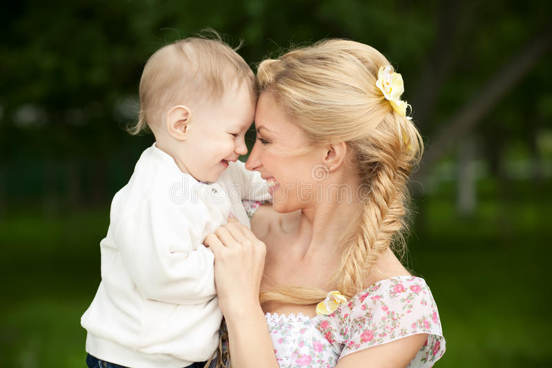 Download Mom and Son stock image. Image of little, lifestyles - 20024939