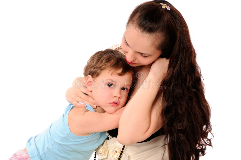 Download Mom And Son Together Stock Photography - Image: 7377082
