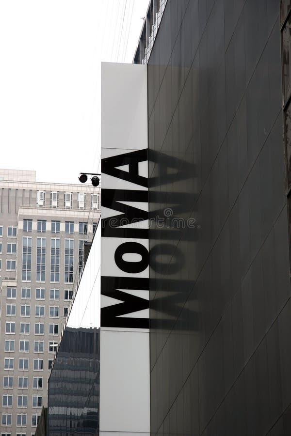 moma Νέα Υόρκη στοκ εικόνες