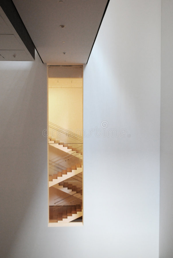 Download MOMA editorial stock image. Image of modern, staircase - 7256484
