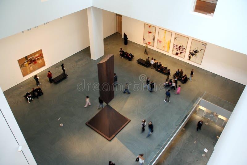 MOMA interior stock photos