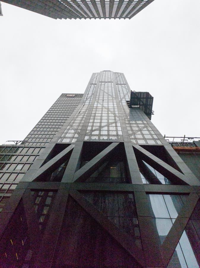 MOMA-museum, det fria, manhattan, New York royaltyfri fotografi