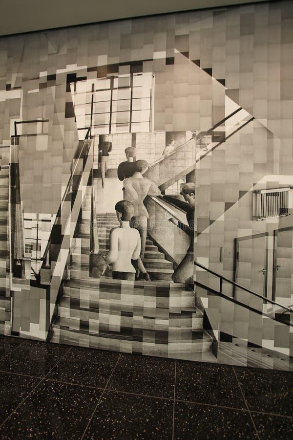 Moma museum, New York, USA fotografering för bildbyråer