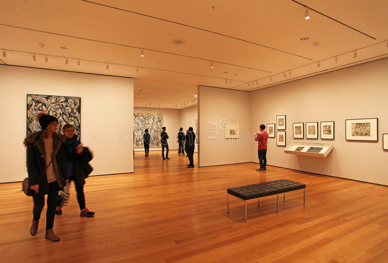 Moma museum, New York, USA royaltyfri foto
