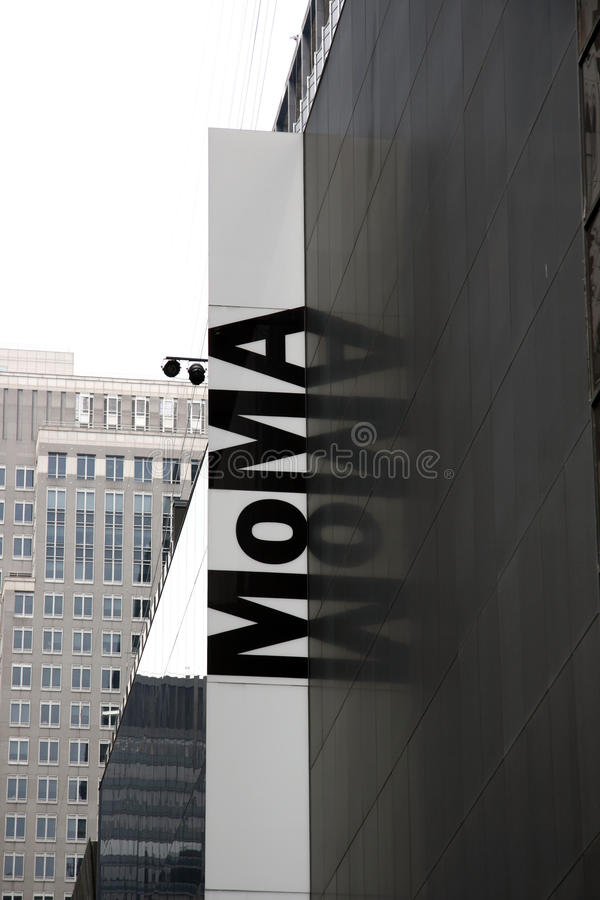 MoMa. New York fotografia stock