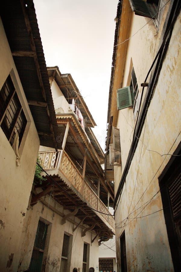 Mombasa-alte Stadt lizenzfreie stockfotos