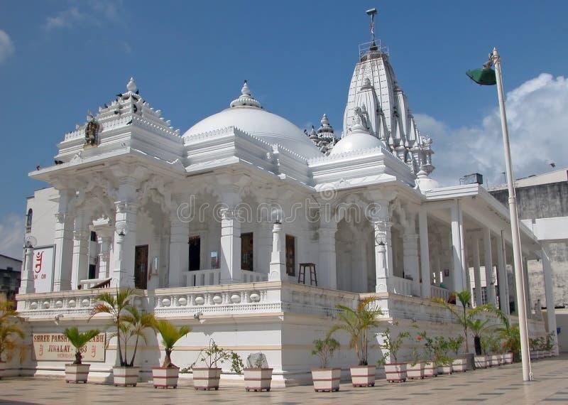 Mombasa - templo Jain imagen de archivo
